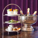 Detox afternoon tea at Blythswood Square, Glasgow