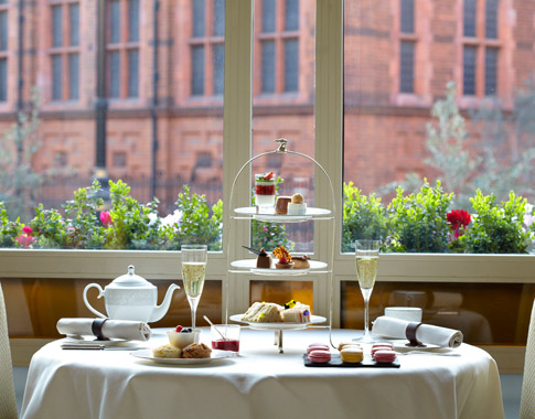 Chelsea Flower Show Afternoon Tea 2016 at the Connaught Hotel, London