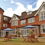 Enjoy an alfresco afternoon tea at Grovefield House Hotel, Burnham