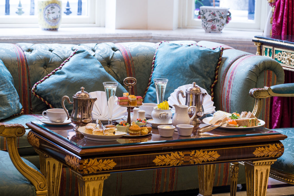 Kensington Palace and Afternoon Tea at the Bentley Hotel, London