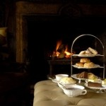 Enjoy afternoon tea at Lewtrenchard Manor, Devon in beautiful surrounds.