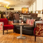 The luxurious interiors of the Mercure Hotel, Maidstone, Kent, perfect for afternoon tea.