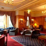The opulent interior of Moor Hall Hotel, the venue for a gorgeous afternoon tea in the West Midlands