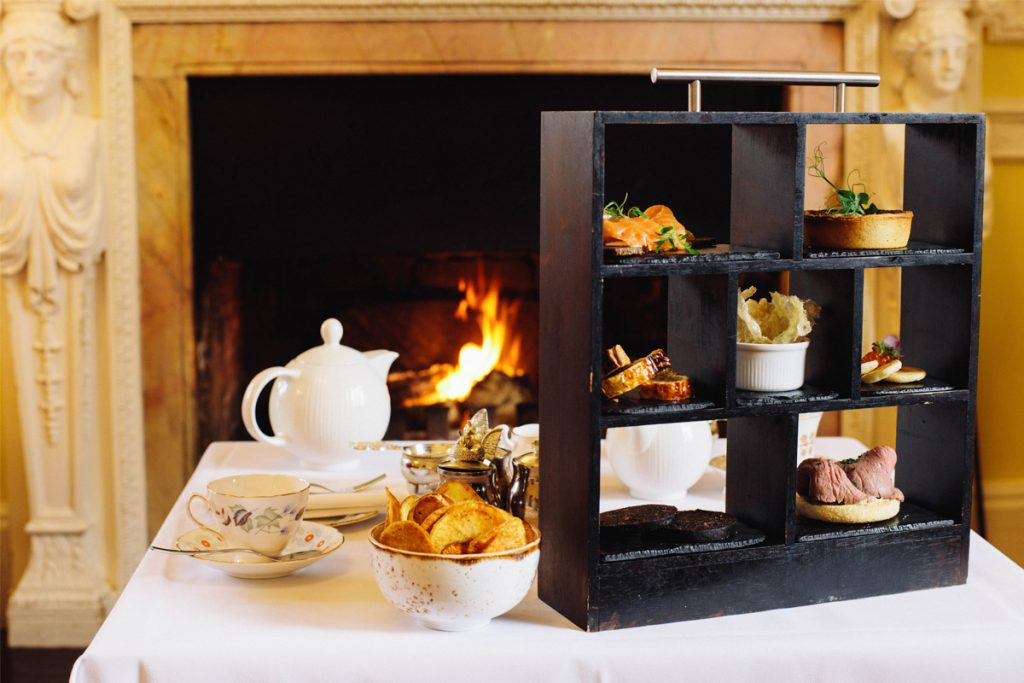 Gentleman's Afternoon Tea at Oakley Court Hotel, Windsor