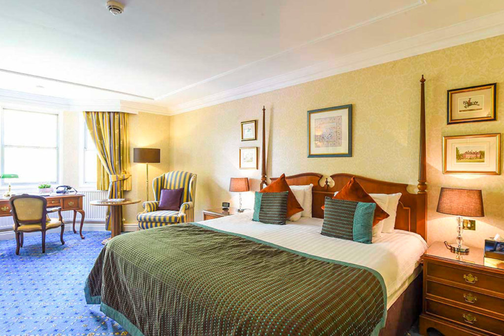 Overnight stay at Oakley Court, Windsor