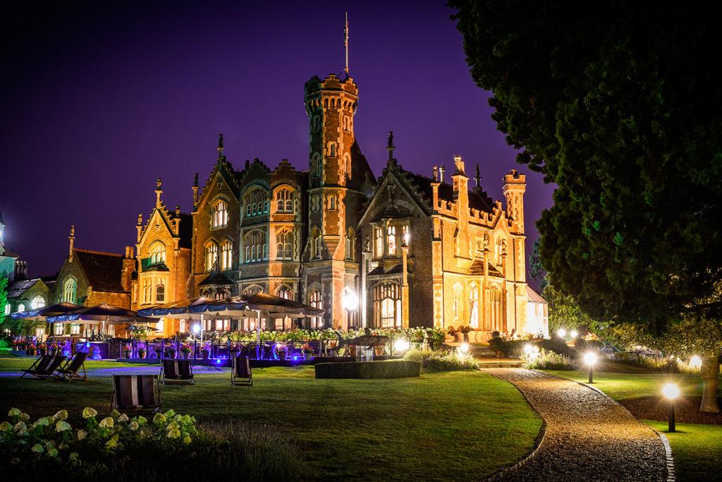 Evening at Oakley Court Hotel, Windsor