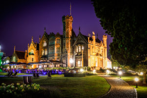Evening at Oakley Court Hotel, Windsor
