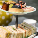 Traditional afternoon tea at Oakley Court Hotel, Windsor