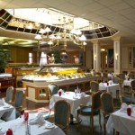 The beautiful restaurant, the venue for afternoon tea for Croydon Park Hotel, Surrey