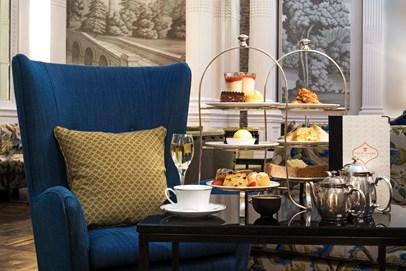 A truly extravagent experience, the Balmoral afternoon tea, Edinburgh