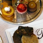 Divine cakes for afternoon tea in Chelsea at the Bentley Hotel, London