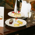 A traditional afternoon tea in Birmingham at the Plough and Harrow Hotel