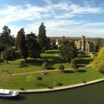 Enjoy afternoon tea in the magnificent Oakley Court Hotel, Windsor, Berkshire.