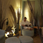 Relaxation room at Moor Hall Spa Hotel