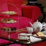 The rose lounge in St James is a perfect venue for afternoon tea.