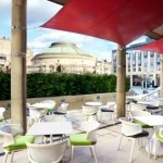 Enjoy an alfresco afternoon tea in Edinburgh on the terrace at Sheraton One Square