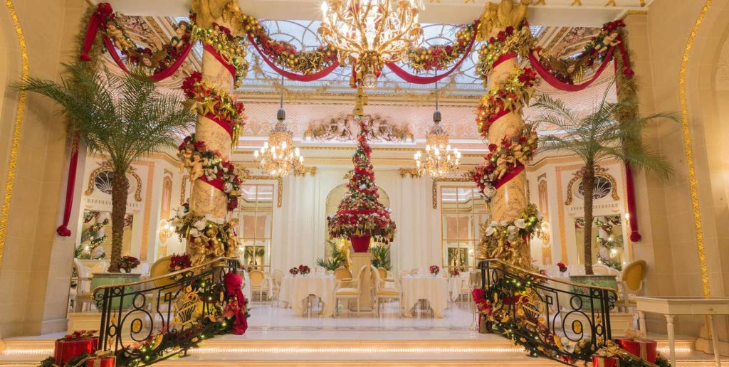 Christmas Afternoon Tea at the Ritz. One of the best Christmas afternoon teas in London.