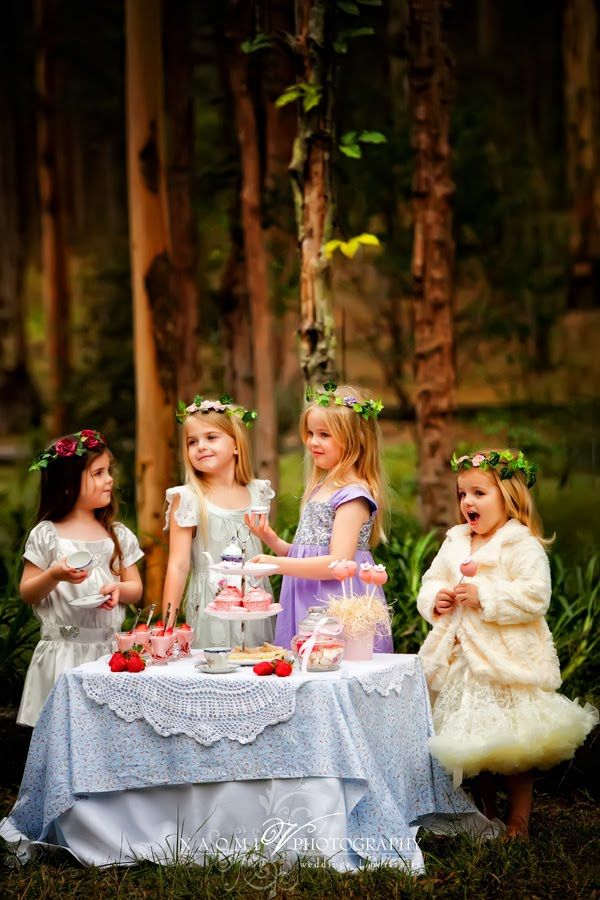 A woodland picnic