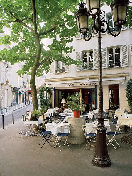 La Maison Paris, alfresco dining in a beautiful city