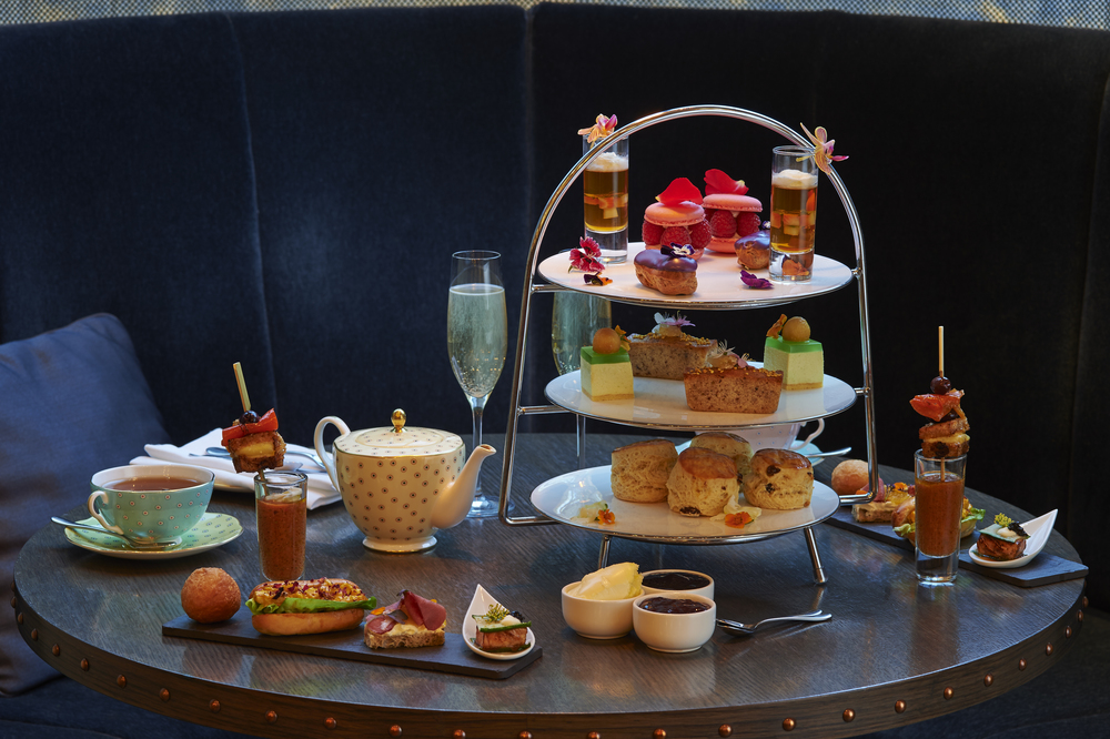 Botanical Afternoon Tea at Pont Street, Belgrave Hotel. Inspired by the Chelsea Flower Show.