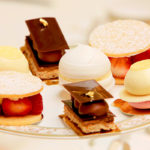 Tempting sweet treats for afternoon tea at the Ritz Hotel, London