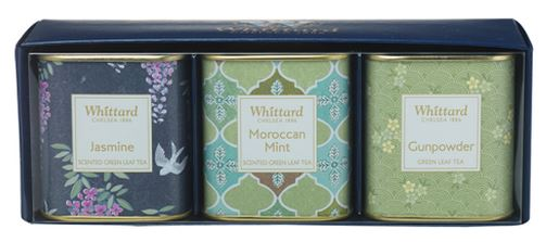 Whittard green tea loose leaf selection