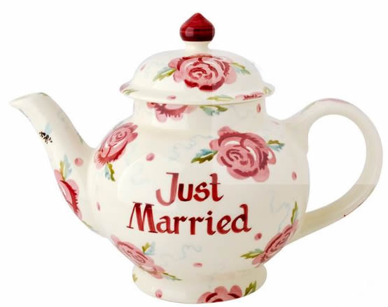 Personalised teapot from Emma Bridgewater
