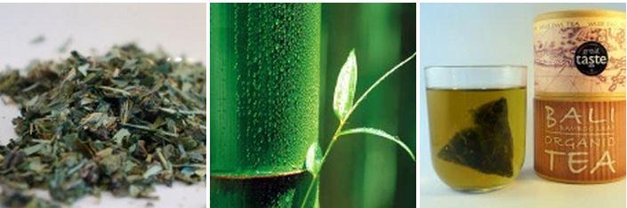 Bamboo loose leaf tea from Wise Owl Tea