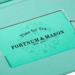 Afternoon tea gift voucher from Fortnum and Mason