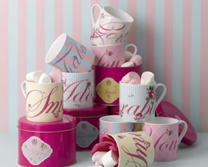 Beautiful mugs from Royal Albert, a perfect for afternoon tea lovers.