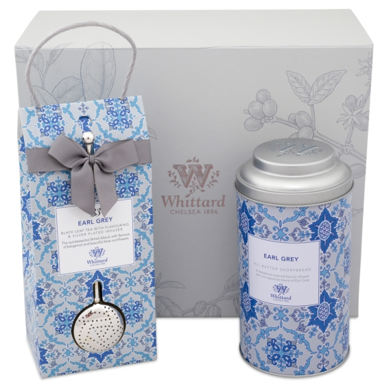 Whittard of Chelsea Earl Grey gift set for Mother's Day