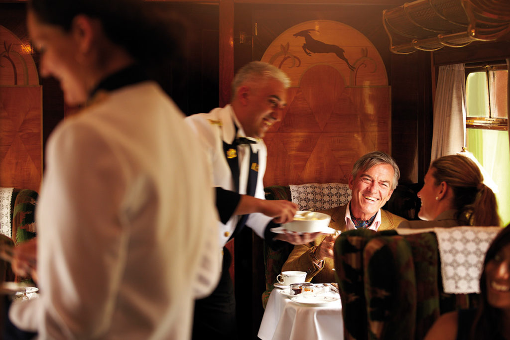Orient Express style Murder Mystery Lunch with Belmond Trains