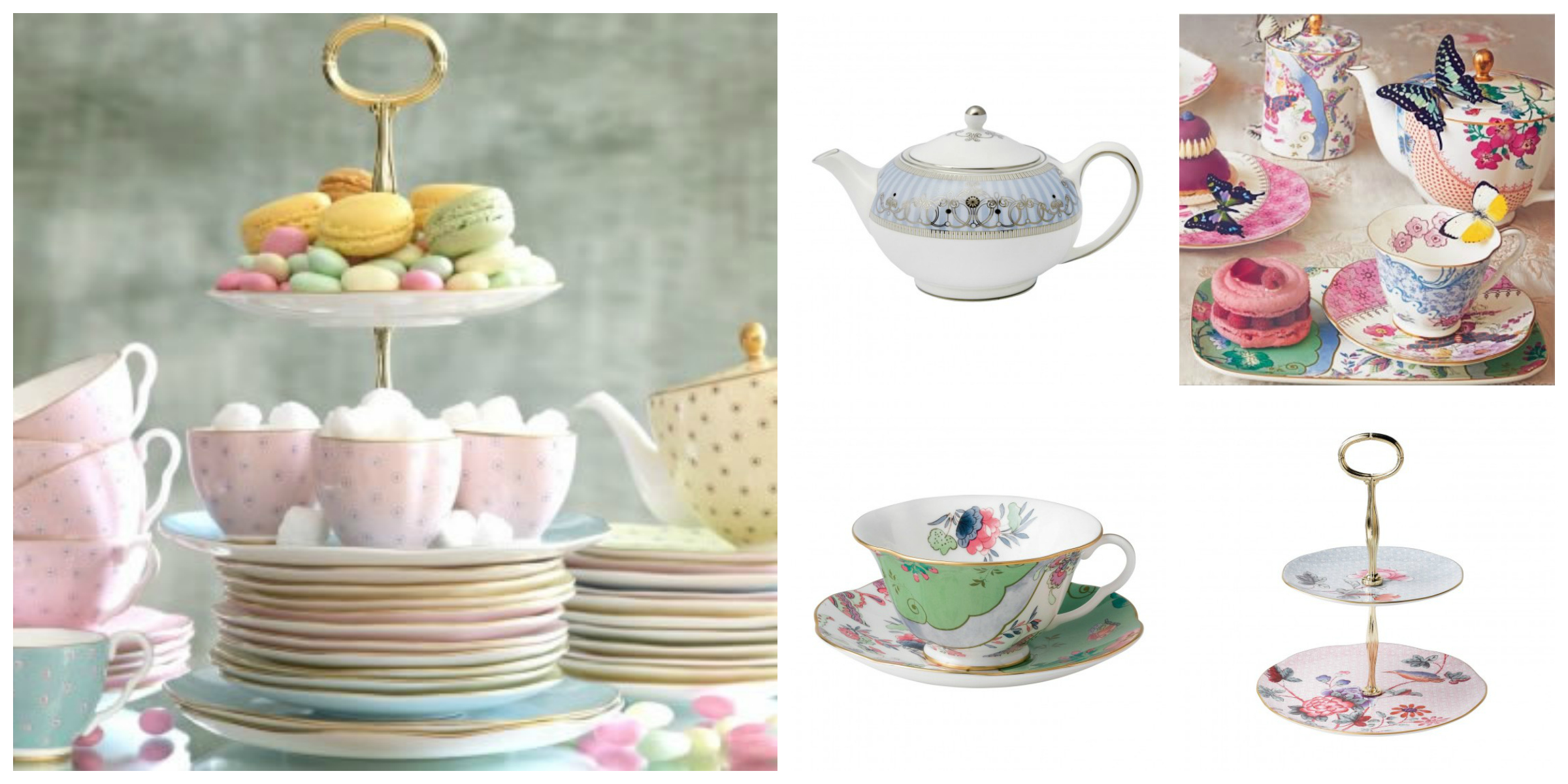 A stunning collection of bone china from Wedgwood