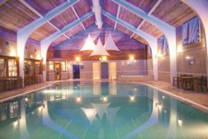 The pool at the Spa at North Lakes, Cumbria