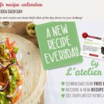 Download Ateliers des Chefs Free Recipe Calendar