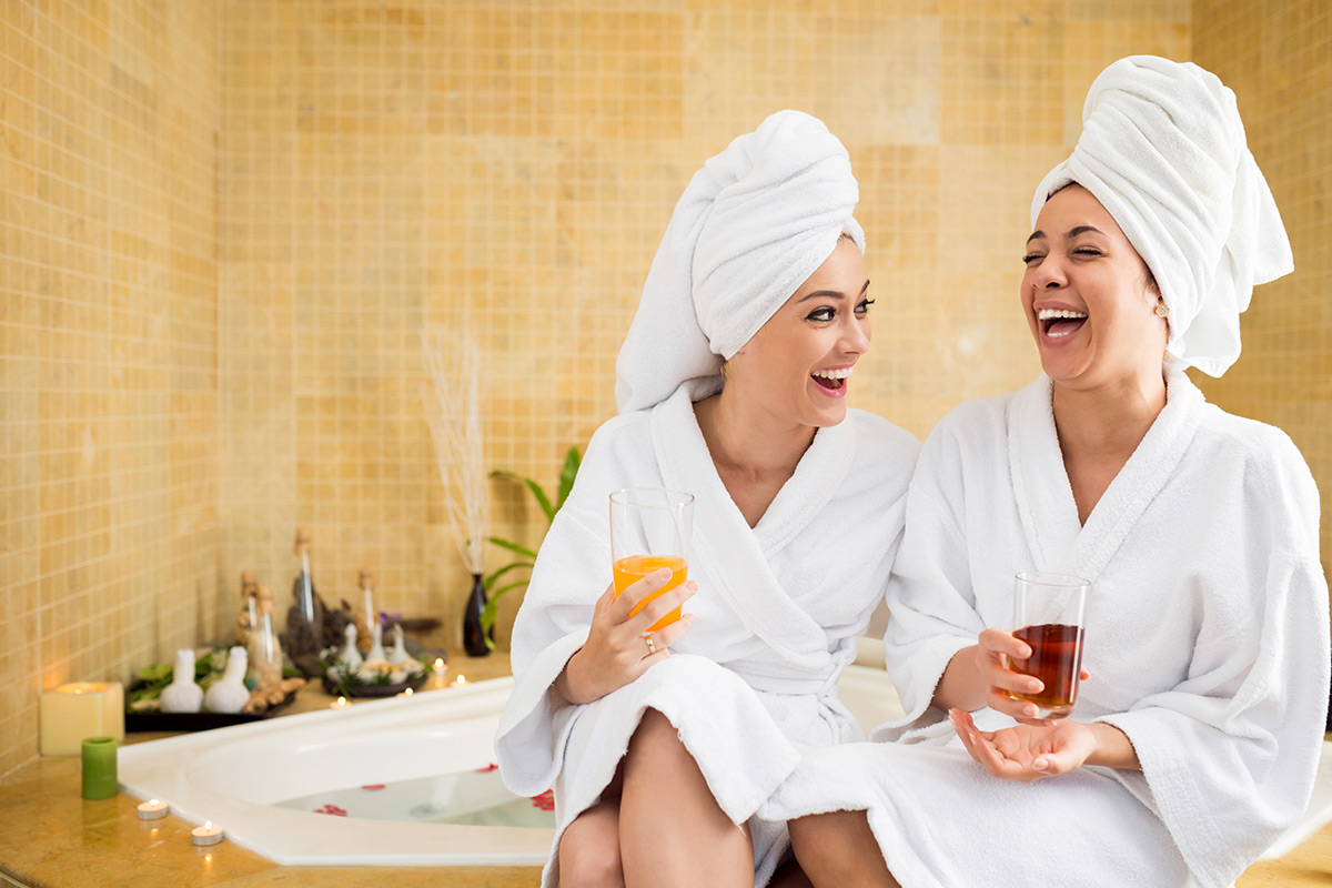 Spa Treatment And Afternoon Tea