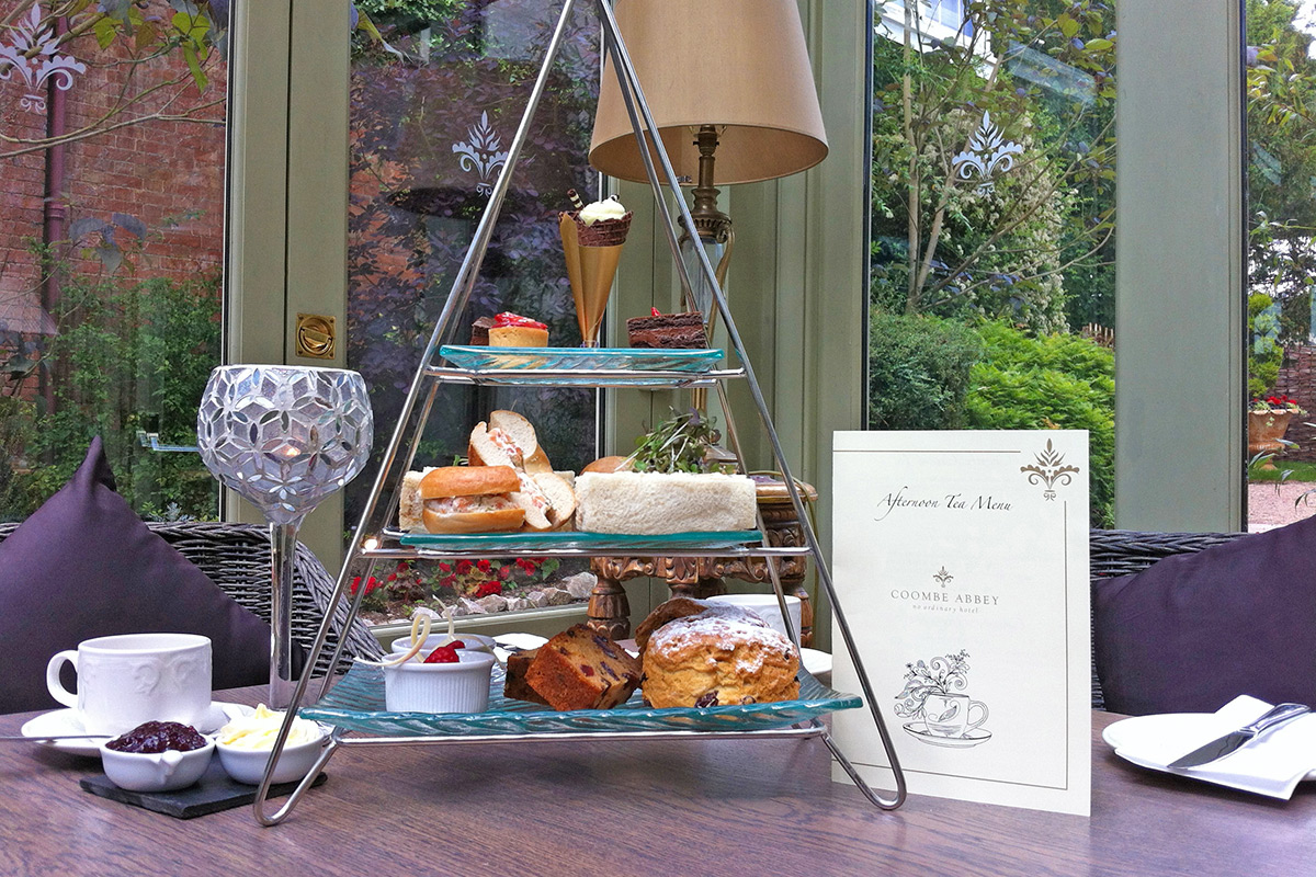 Coombe Abbey Afternoon Tea, West Midlands.