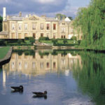 The beautiful lake at Coombe Abbey, the venue for a traditional afternoon tea in the West Midlands