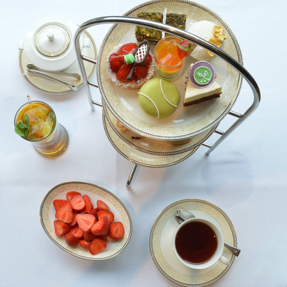 Wimbledon Afternoon Tea at the Royal Garden, London