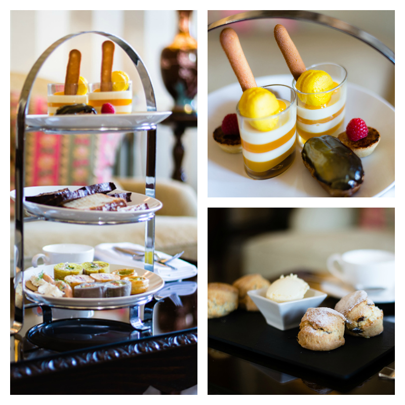cromlix afternoon tea collage