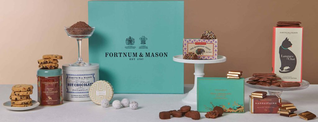 Chocolates for chocoholics - a tempting Fortnum and Mason Chocolate Hamper