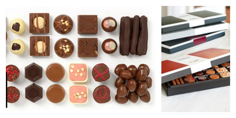 Chocolates for Chocoholics - A tempting selection of chocolates from Hotel Chocolat