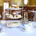 Afternoon Tea at Cotswolds House Hotel, Chipping Camden, Gloucestershire.