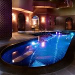 The pool at St Pancras Hotel