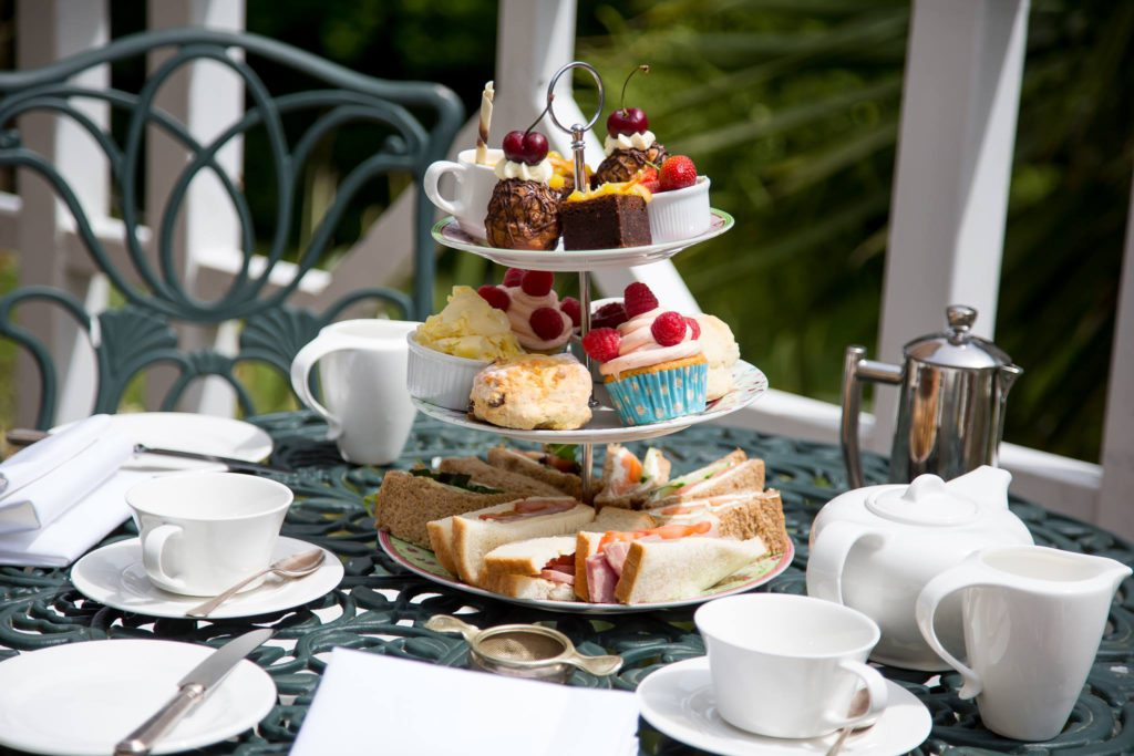 Orestone Manor Afternoon Tea cake stand