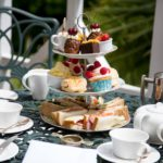Orestone Manor Afternoon Tea cake stand
