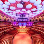 The stunning interior of the Royal Albert Hall