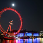 Coca Cola London Eye at Night