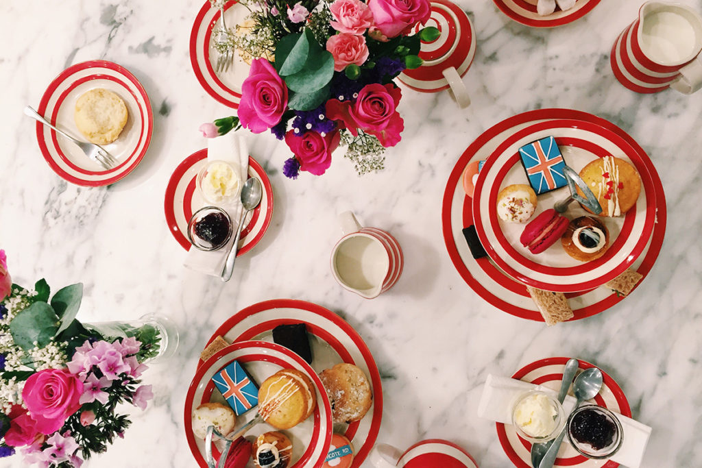 London Themed Afternoon Tea from Biscuiteers in Notting Hill and Battersea