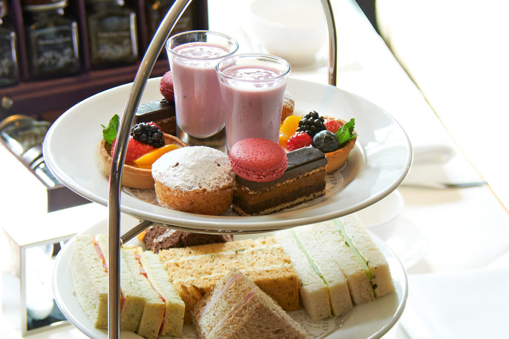 Chocolate Lovers Afternoon Tea at the Hilton London, Green Park.